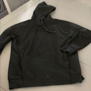 Dark grey/green hoodie